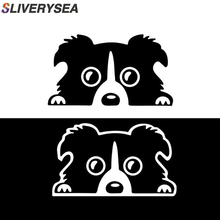 SLIVERYSEA Cute French Bulldog Dog Sticker Car Decals Racing Stickers Motorcycle Bike styling #B1090