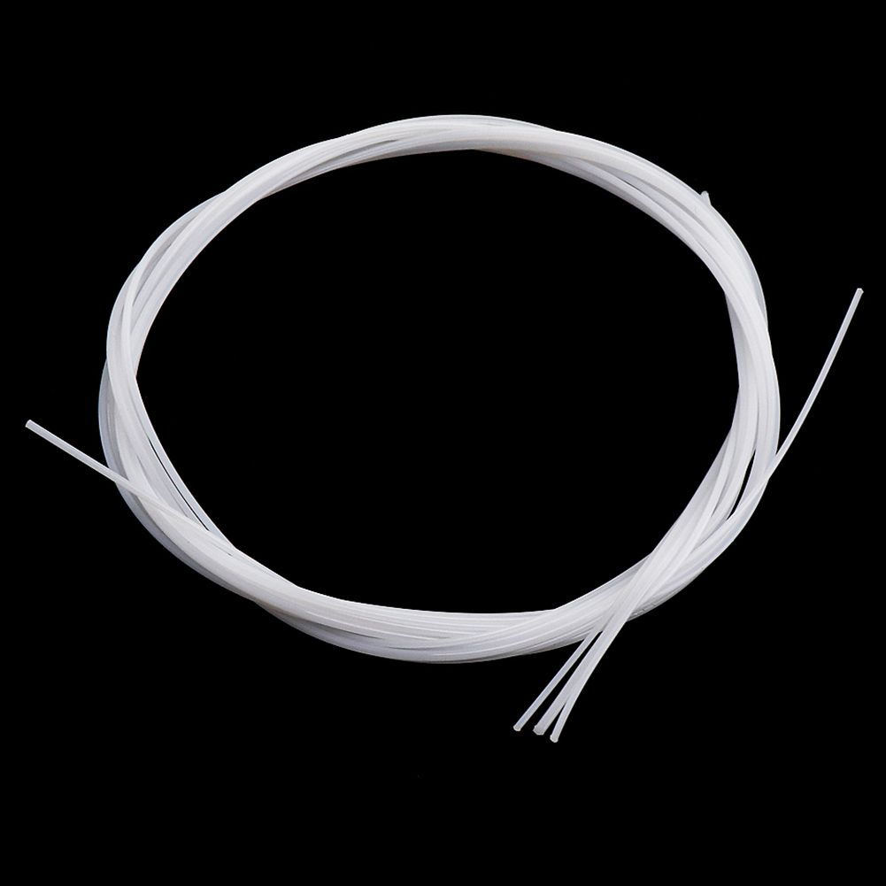 XFDZ 4pcs/set White Durable Nylon Ukulele Strings Replacement Part For 21 Inch 23 Inch 26 Inch Stringed Instrument