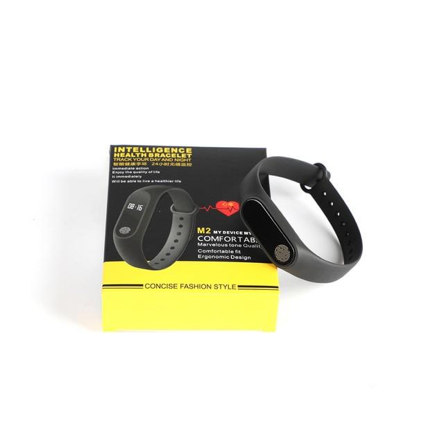 Wrist Sport Fitness Watch Bracelet Display Sports Tracker Digital LCD Walking Pedometer Run Step Calorie Counter WristBand 5