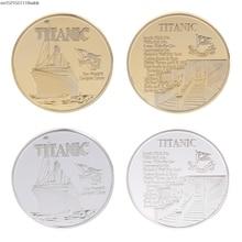 Памятная монета Титаник корабль случай художественные подарки для коллекции BTC Биткоин сплав неталютная монета