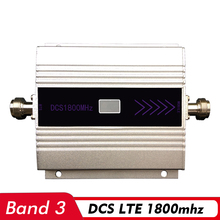 Mini lcd Display Voice & 4G Signal Booster (B3)DCS LTE 1800 Mobile Repeater Network Celluler Amplifier