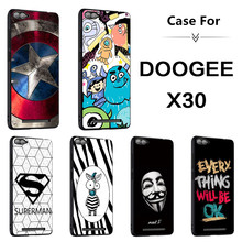 Cartoon Zebra and Shield Case For Doogee X30,TPU Material Case.6 Colors!Mobile Phone Bracket Case,More Practical!(China)