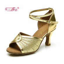 Sasha direct selling professional High Quality Salsa Tango Ballroom Sequins Latin Dance Shoes women 318