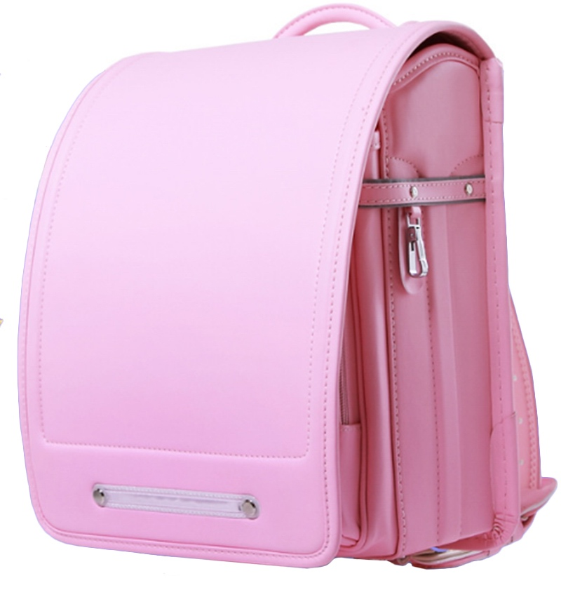 ФОТО coulomb Japanese Randoseru fit for girls and boys can put in A4 paper zipper pocket hasp school bag BL.RS.0060