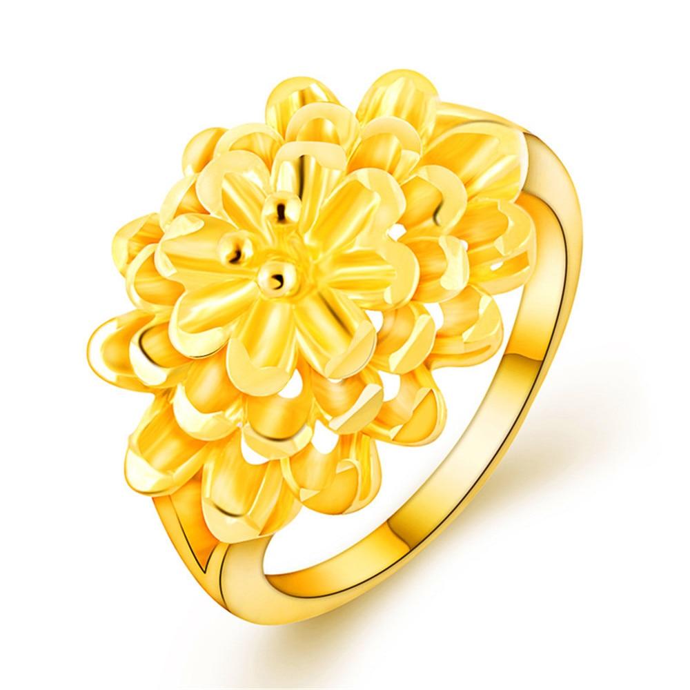 Multilayer Gold Flower Designs Ring Holder Hot Sale ...