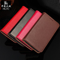 Real Genuine Leather Case For Samsung Galaxy S6 Edge S 6 Note 5 Note5 Cell Phone