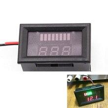 12V ACID Lead Battery Indicator Battery Capacity LED Tester Voltmeter Charge Battery Level Indicator Lead-acid Batterie Capacity
