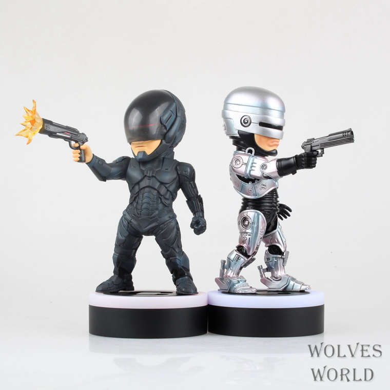 1 Pcs 20 CM RoboCop Murphy LED Light Action Figures PVC Anime brinquedos Collection Figures Toys Chirstmas Gift 2 Styles New