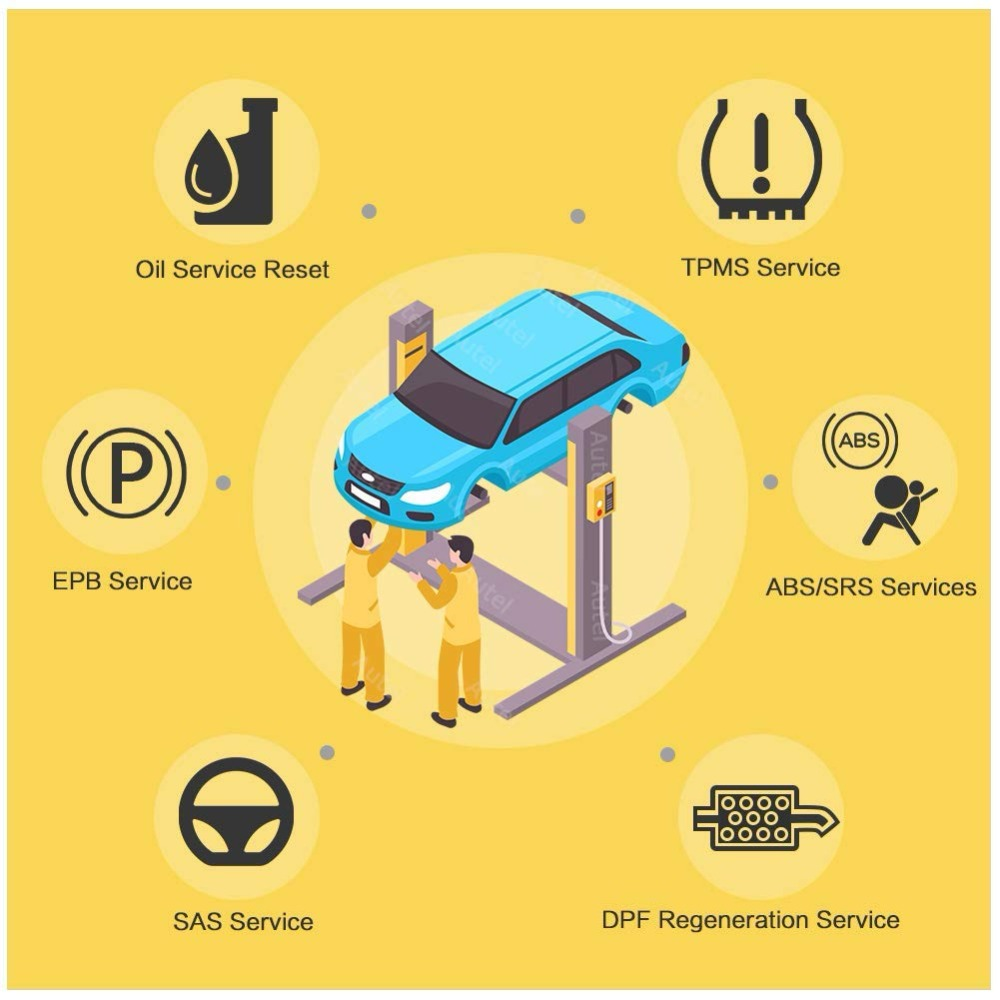 Image 2 - Autel Maxidas DS808 OBD2 сканер автомобильный диагностический инструмент OBDII тестер OBD Инжектор Кодирование ключа кодирование код считыватель PK MS906-in Анализатор двигателя from Автомобили и мотоциклы