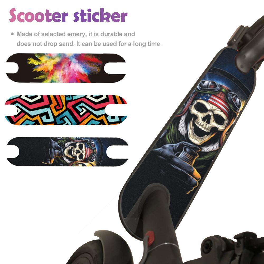 Electric Scooter Skateboard Griptape Stickers Fit Xiaomi Mijia M365 Pro Ninebot ES1 Non-Slip Skate Board Sandpaper Paster