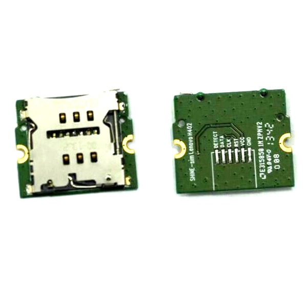 Genuine SIM Tray Card Reader Board For <font><b>Lenovo</b></font> IdeaTab <font><b>S5000</b></font>-HV sim Card Socket Holder Adapter Board tablet pc Replacement Repair image