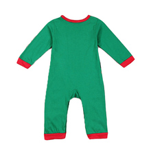 Rorychen Christmas Baby Costumes Baby Boys Clothing Toddler Infant Long Sleeve Baby Rompers Santa Hat Baby Clothes Set Outfits