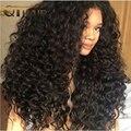 7А Перуанский Афро Кудрявый Вьющиеся Волосы Девственные Странный Вьющиеся Волосы 5 шт./лот QT Волос Продукты Человеческих Волос Соткет Натуральный Черный