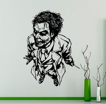 Movies Character Joker Special Vinyl Wall Sticker Pattern Creative Home Bedroom Office Art Decor Y977