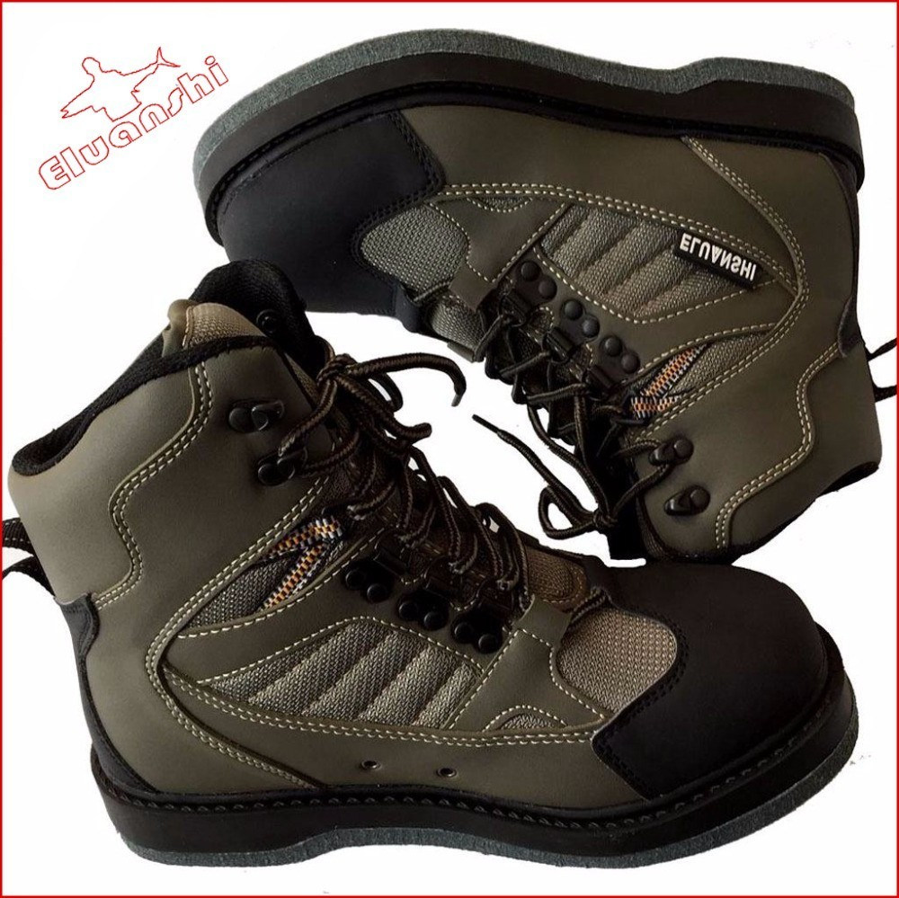 Quick-dry wear resistant breathable waders fly fishing boot shoes wading tackle outdoor Unisex Skid-resistance rock Drainage kayak suit