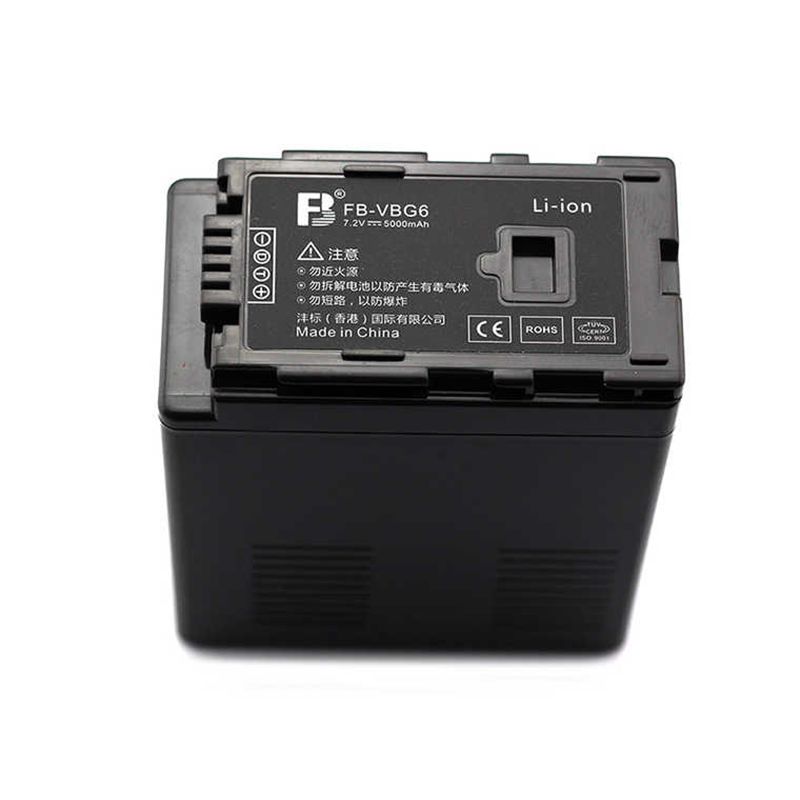 VW-VBG6 VW-VBG6 Digital camera Battery VBG6 lithium batteries VW VBG6 For Panasonic HDC-DX1 AG-HMC150 HDC-HS20 HPX250 VDR-D50 replacement vbk360 3 7v 3580mah battery for panasonic hdc tm90 more