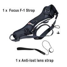 Focus F-1 Против Скольжения Быстрый Быстрое Плеча Sling Ремень Шейный Ремешок для DSLR Камеры