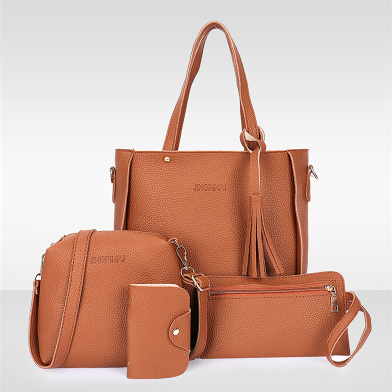 Women Top-Handle  Composite 3-Set Bag 18