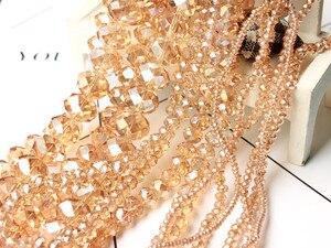 Хрустальные чешские бусины STENYA 4*3 мм Форма Рондель ювелирные изделия своими руками Стеклянные Подвески браслет ожерелье аксессуары