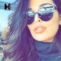 Estilos de verão moda mulheres cat eye sunglasses marca designer vintage europeia amrican popular batida rua óculos de sol uv400