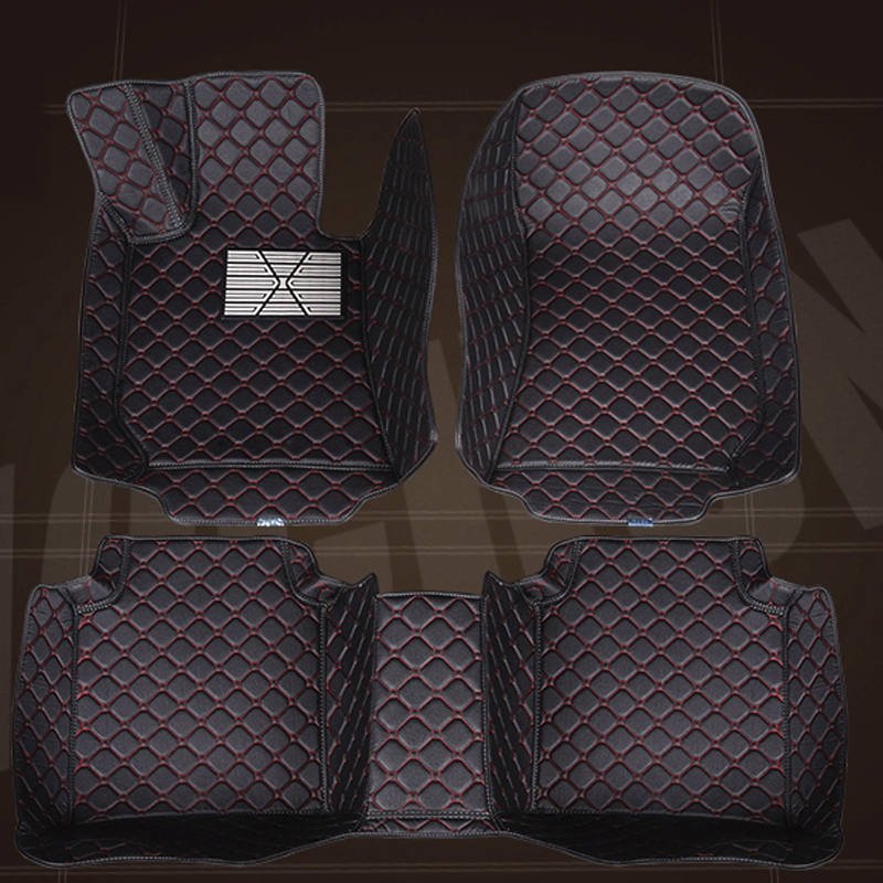 Car floor mats for Toyota Land Cruiser Prado 150 120 Corolla Camry RAV4 Camry 5D car styling carpet floor liners