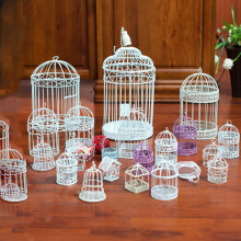 10X18CM Bird Cage Creative Vintage wrought iron Bid Nest Home Decorations Parrot Small Animal House Pet Products
