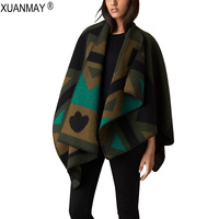 Autumn And Winter Oversized Loose Women Knitted Shawl Coat Chest 2015 Womens Fall Fashion Fashion Casual