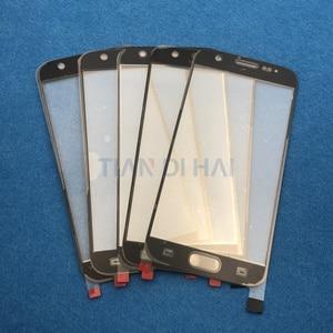 Image 3 - 1 adet ön dış cam Lens ekran Samsung Galaxy S7 G930 G930F S6 G920 G920F dokunmatik ekran paneli değiştirme