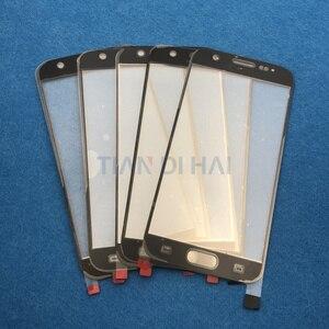 Image 3 - 1 sztuk przedni zewnętrzny szklany obiektyw ekran do Samsung Galaxy S7 G930 G930F S6 G920 G920F panel dotykowy wymiana