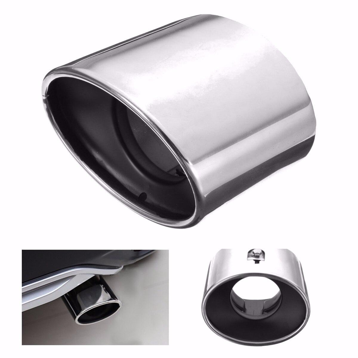 Cromo acero inoxidable de escape silenciador de tubo de cola para Honda/Accord 2008-2012