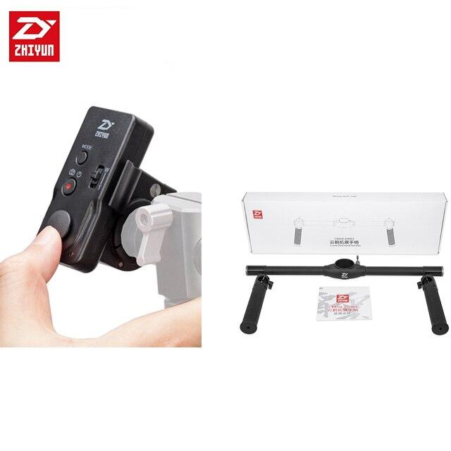 Zhiyun double poignée à main pour grue 2 stabilisateur à main 3 axes/Zhiyun ZW-B02 télécommande sans fil pour pouce