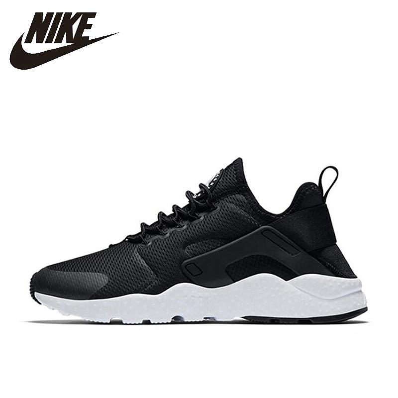 купить Nike Air Huarache Run New Arrival Authentic Women's Breathable Running Shoes Sports Sneakers 819151 833292 по цене 5548.6 рублей