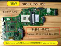 original new for Toshiba Satellite S855 C855 L855 Laptop Motherboard HM76 HD7670M video card