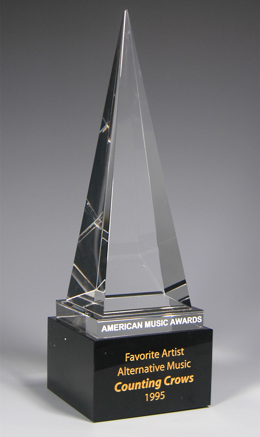 American Music Awards, Crystal AMA Awards, Crystal American Music - Decoração de casa