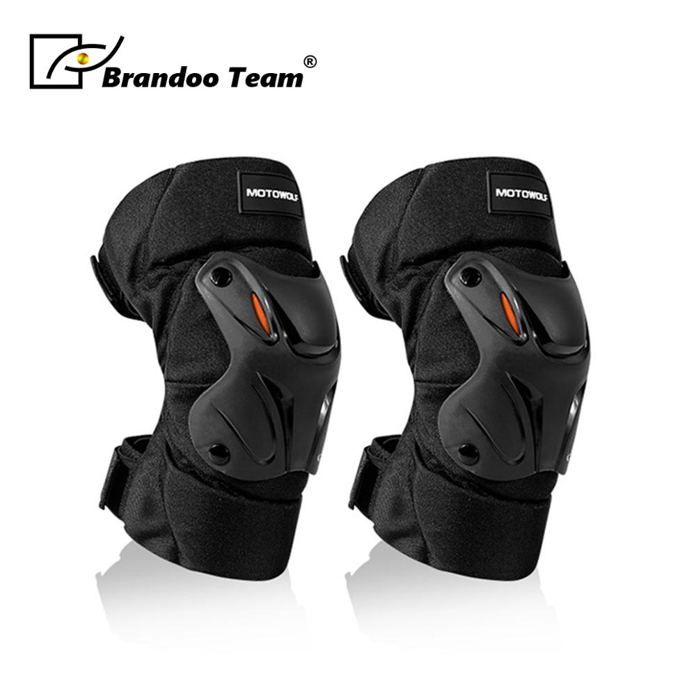 Motorcycle Knee Pad Motocross Knee Guards Motorcycle Protection Knee Motor-Racing Guards Safety Gears