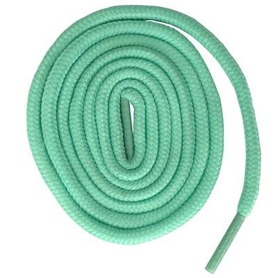 200 см очень длинные круглые шнурки Шнуры Веревки для ботинок martin спортивная обувь - Цвет: 15 light turquoise