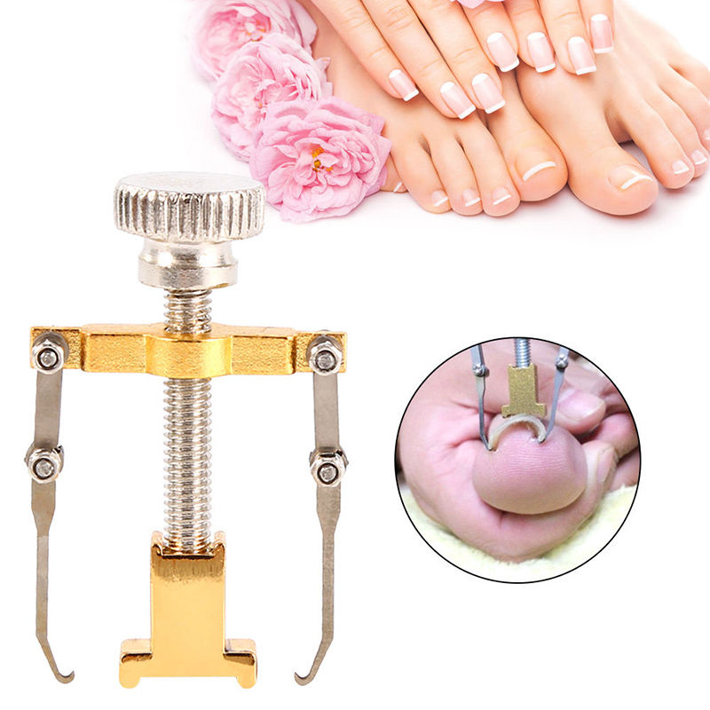 Stainless Steel Ingrown Toe Nail Recover Correction Tool Pedicure Toenail Fixer Lifter Toe File Cleaner Hook Foot Care Treatment in Nail Art Equipment from Beauty Health