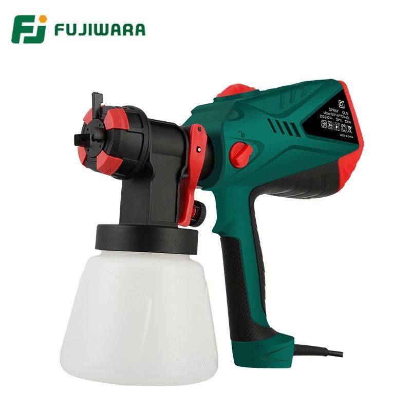FUJIWARA Electric Paint Spray Tool Latex Paint Water-based Paint Airbrush Paint Spray цена 2017