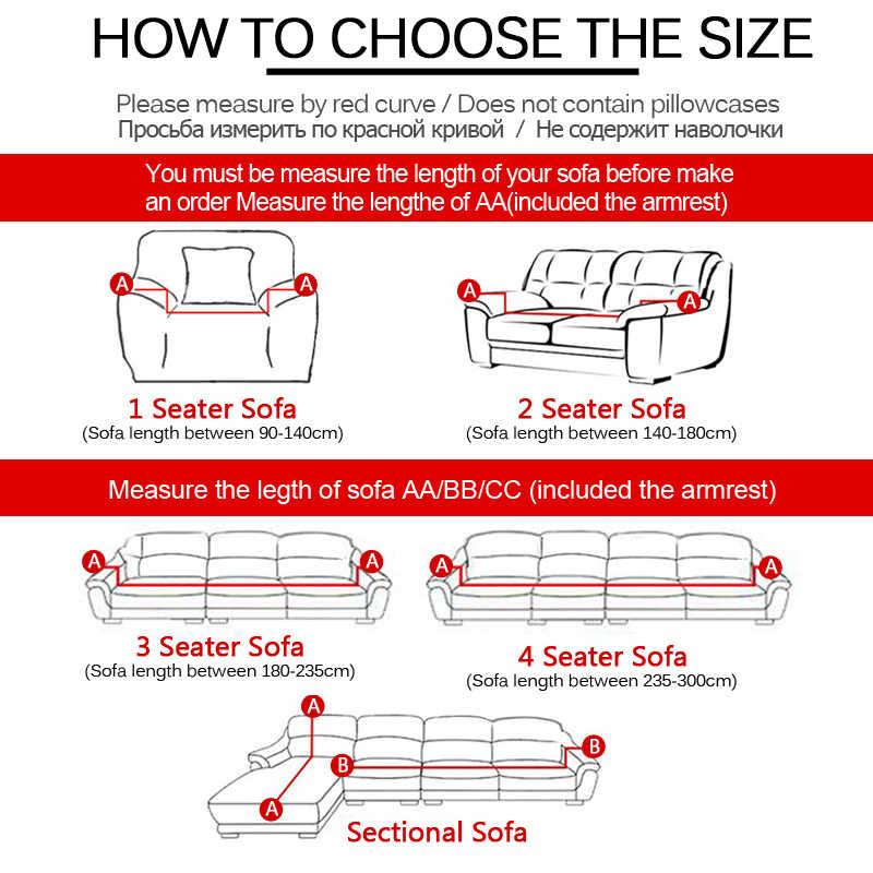 عادي مطاطا تمتد أريكة يغطي نسيخ من سباندكس بوليستير الذراع الأريكة أريكة الغلاف الأثاث غطاء واحد/اثنين/ثلاثة/أربعة مقاعد