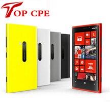 Гарантия 1 Год Разблокирована Оригинальный отремонтированы Nokia Lumia 920 Windows телефон 8 Dual Core 32 ГБ Хранения 4 Г сотовый телефон бесплатно доставка