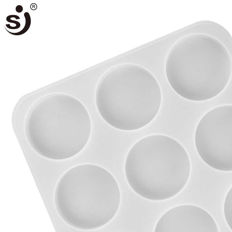 SJ 71 мл 3d Силиконовое Мыло Форма для выпечки, круглая Baby Silico Mold мыло формы для мыла изготовление форм ручной работы ванная комната Нетоксичная кухня