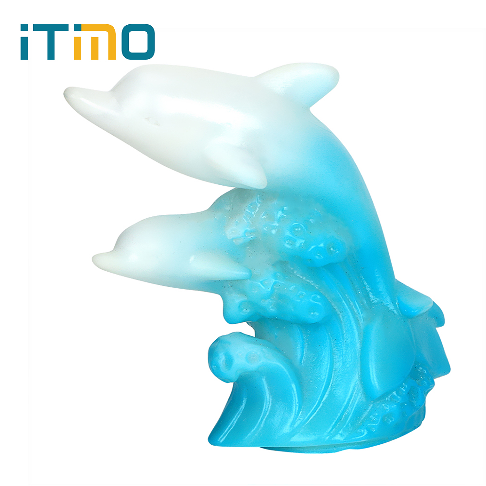ITimo LED Table Lamp Colorful for Kid Baby Bedside Night Light Creative Decoration Bedroom Decoration LED Dolphin