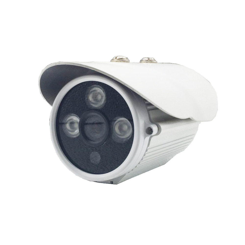 Hot Infrared Bullet 720P AHD 1MP 6mm Len Security Camera Outdoor Indoor Waterproof 3 LED NTSC PAL CCD CCTV Surveillance Camera giantree 1 3mp 720p pal ntsc 2500 tvl ahd cctv lens ir infrared indoor security dome hemisphere camera surveillance system ip66