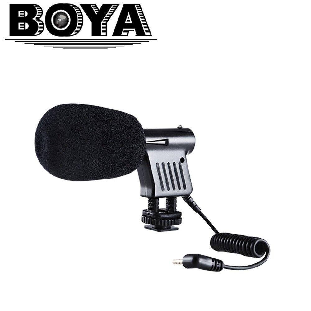 BOYA Livrare gratuită BY-VM01 Microfon de înregistrare condensator - Audio și video portabile