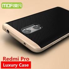 Redmi Pro case 5.5 cover MOFi Xiaomi Redmi Pro prime case silicona soft TPU back cover Xiomi Red mi pro case original 32gb 64gb