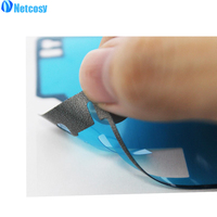 50PCS LCD Display Frame Housing 50PCS Rear Case Back Battery Cover Adhesive Glue Tape Sticker For