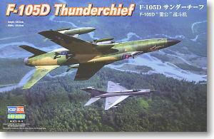 Hobby Boss 1 48 scale aircraft models 80332 F 105D thunderbolt bombers