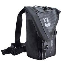 Waterproof Waistpack Motorcycle Racing Knight Oxford Riding Leg Bag Waist Pack Belt Travel Hiking Bag Adjustable недорого