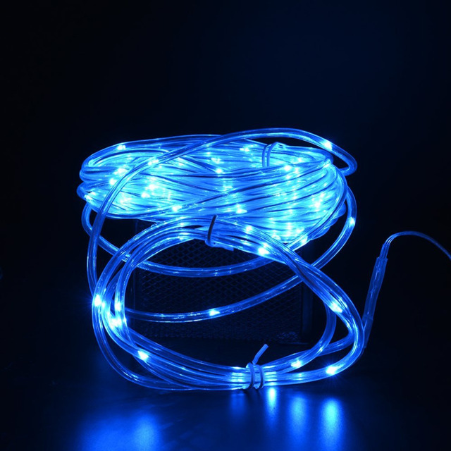 Solar Rope Lights Outdoor Waterproof Ideal For Christmas Gardens Lawn Patio Decorations
