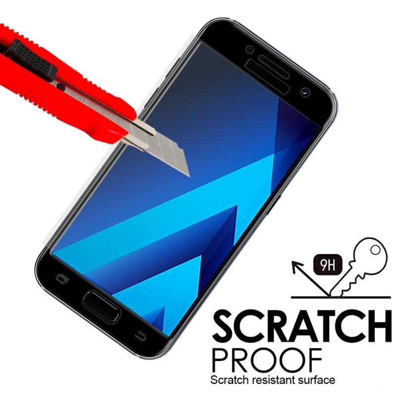 Samsung Galaxy J2 J5 J7 Prime 9H ekran qoruyucu üçün Galaxy Cover - Cib telefonu aksesuarları və hissələri - Fotoqrafiya 3